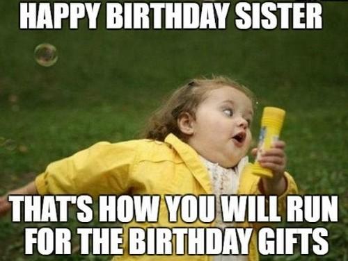 Sister Birthday Meme 32
