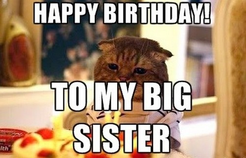 Sister Birthday Meme 35