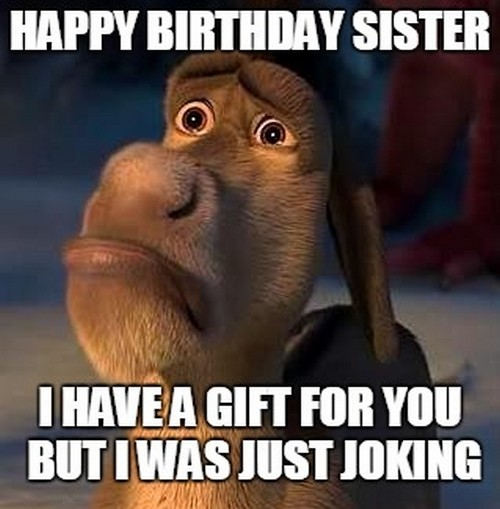 Sister Birthday Meme 36