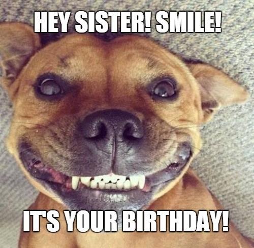 Sister Birthday Meme 39