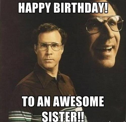 Sister Birthday Meme 46