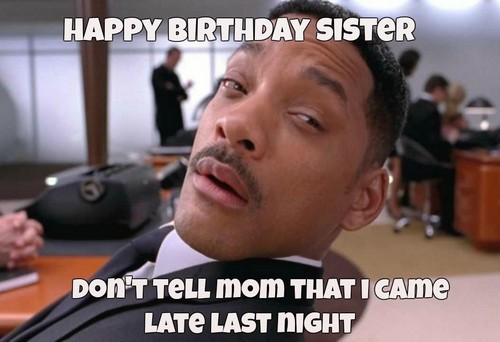 Sister Birthday Meme 49