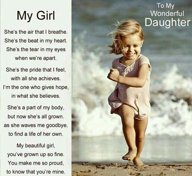 To My Wonderful Daughter Daughter Birthday Meme