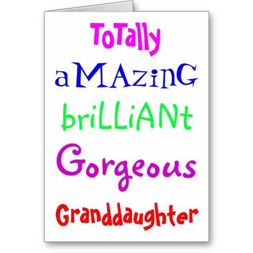 Totally A Magic Brilliant Granddaughter Birthday Meme