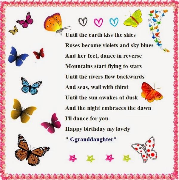 Until The Earth Kiss Granddaughter Birthday Meme