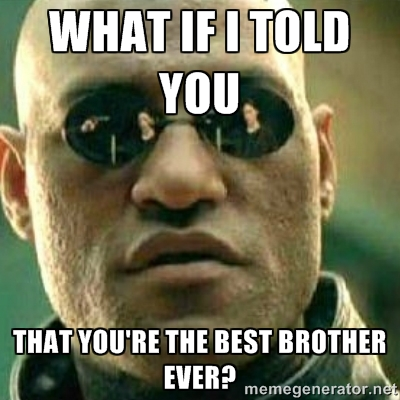 What If I Told Brother Meme