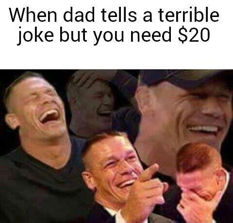 When Dad Tells A Dad Meme