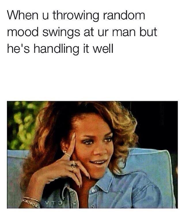 When U Throwing Random BF Meme