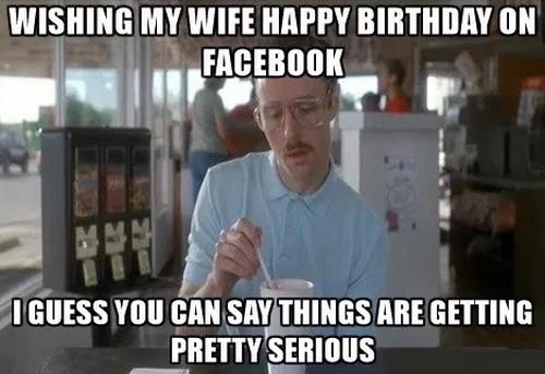 Wishing My Wife Happy Wife Birthday Meme