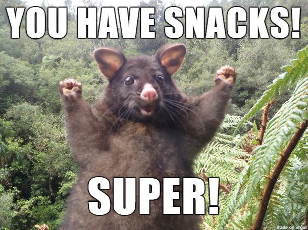 You Have Snacks! Super! Rat Meme