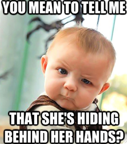 You Mean To Tell Baby Meme
