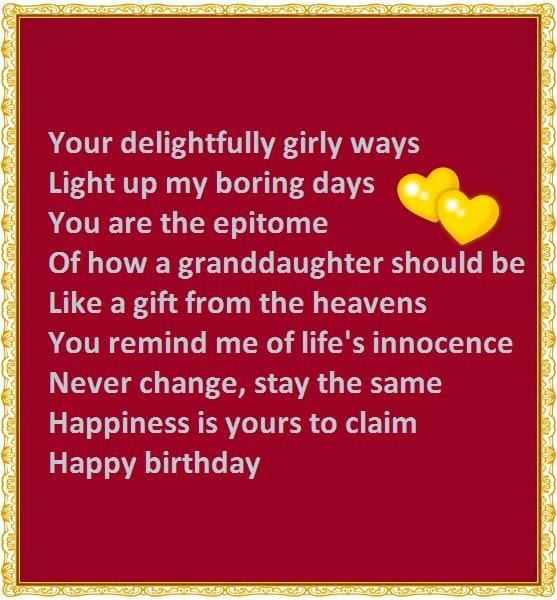 Your Delightfully Girly Ways Granddaughter Birthday Meme