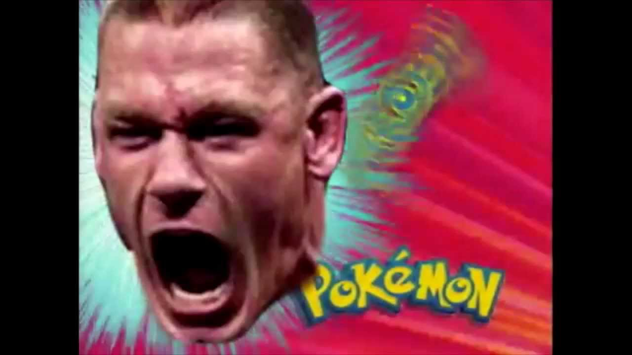 Pokemon John Cena Meme