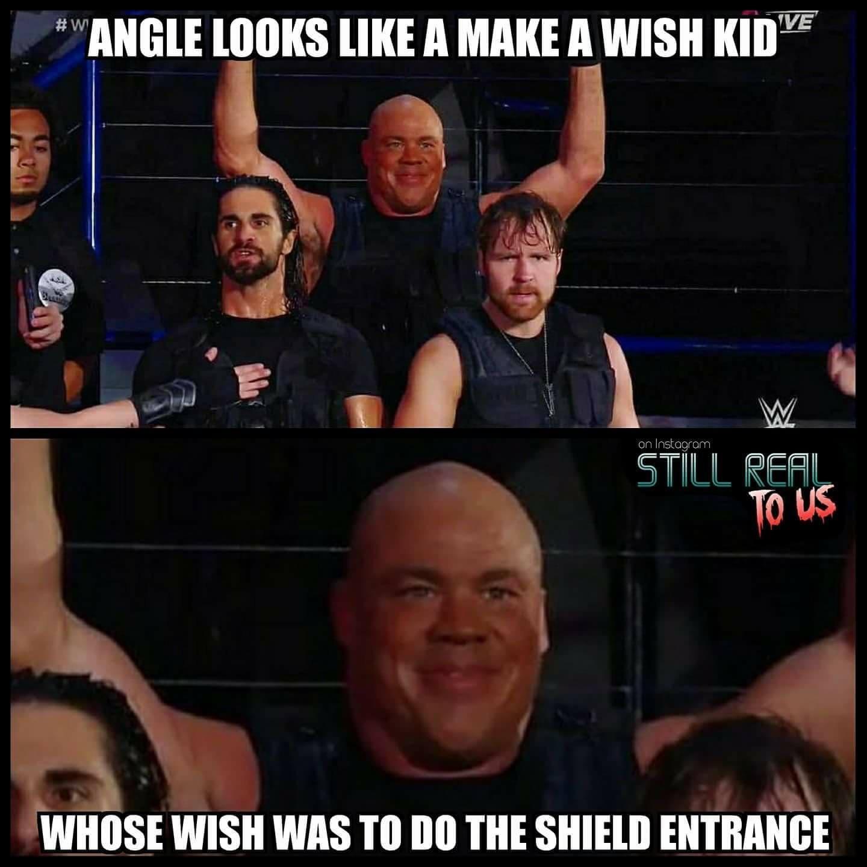 Angle Looks Like A Kurt Angle Meme