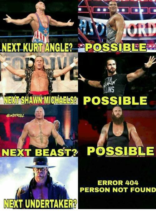 Next Kurt Angle Possible Kurt Angle Meme