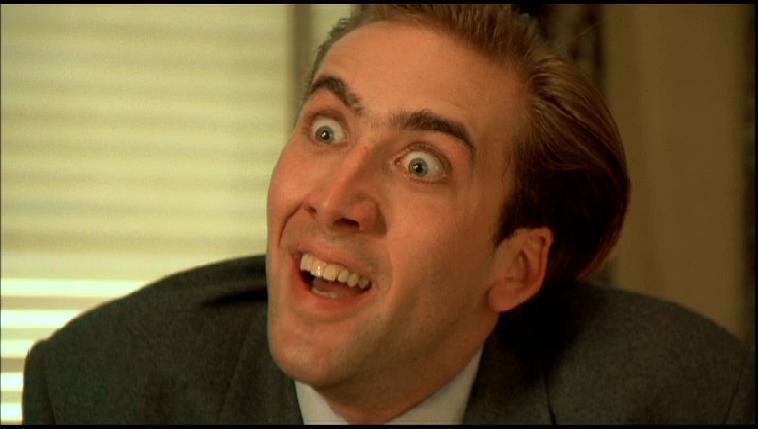 Surprise Face Eyes Actor Meme Face