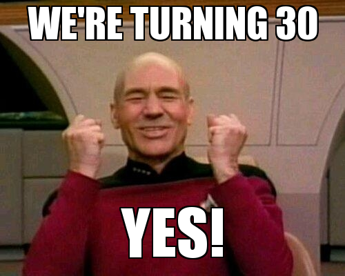 We're Turning 30 Yes! Turning 30 Memes