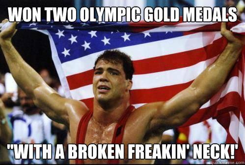 Won Two Olympic Gold Kurt Angle Meme
