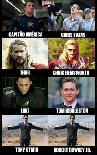 Captain America Iron Man Meme