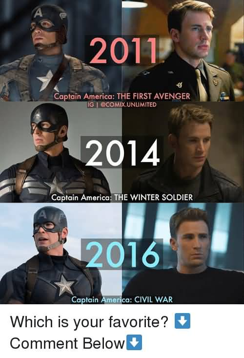19 Funny Captain America Meme That Make You Smile | MemesBoy