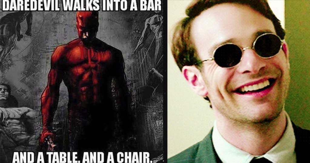 Daredevil Walks Into A Daredevil Meme