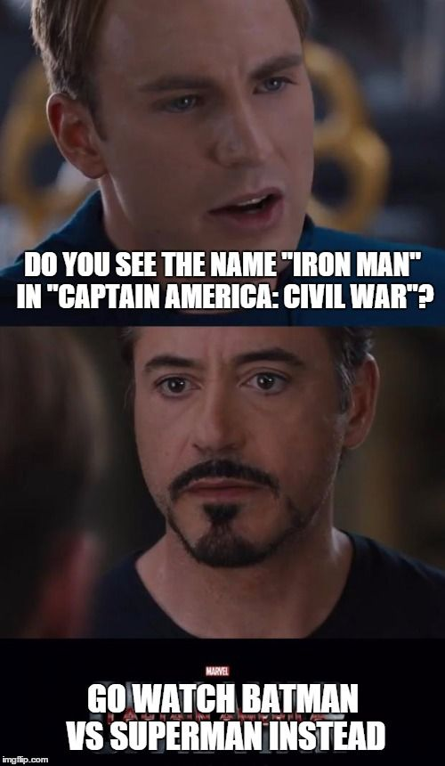 Do You See The Iron Man Meme