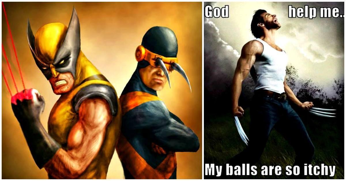 God Help Me My Wolverine Meme