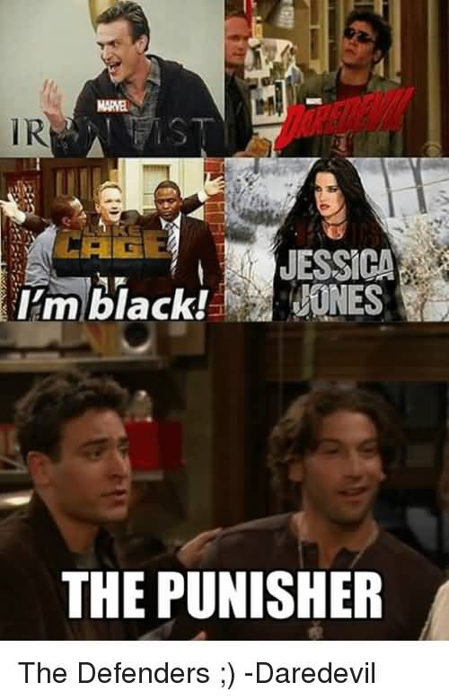 I'm Back Jessica Jones Daredevil Meme