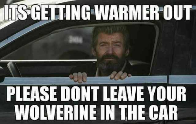 Its Getting Warmer Out Wolverine Meme