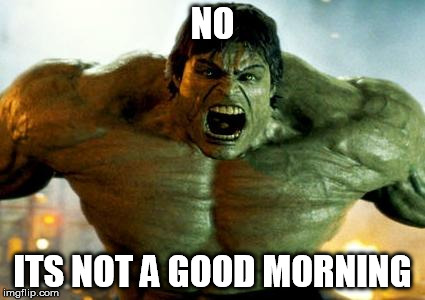No Its Not A Hulk Meme