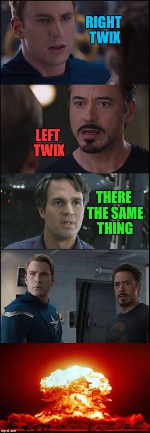 Right Twix Left Twix Hulk Meme