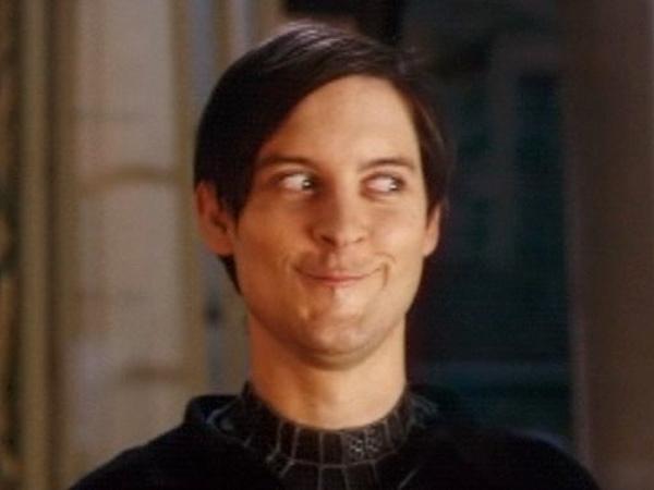 Spiderman Actor Meme Face