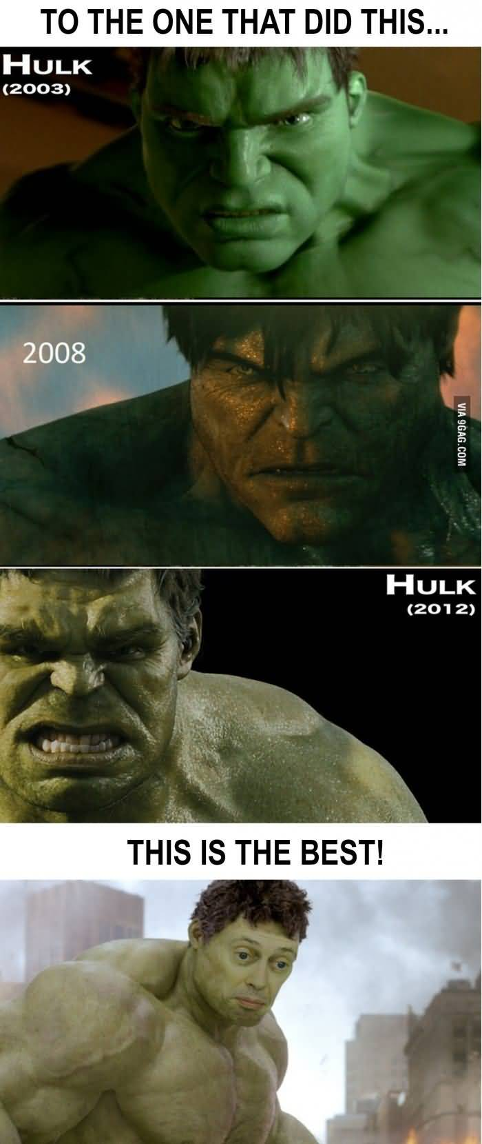 To The One That Hulk Meme