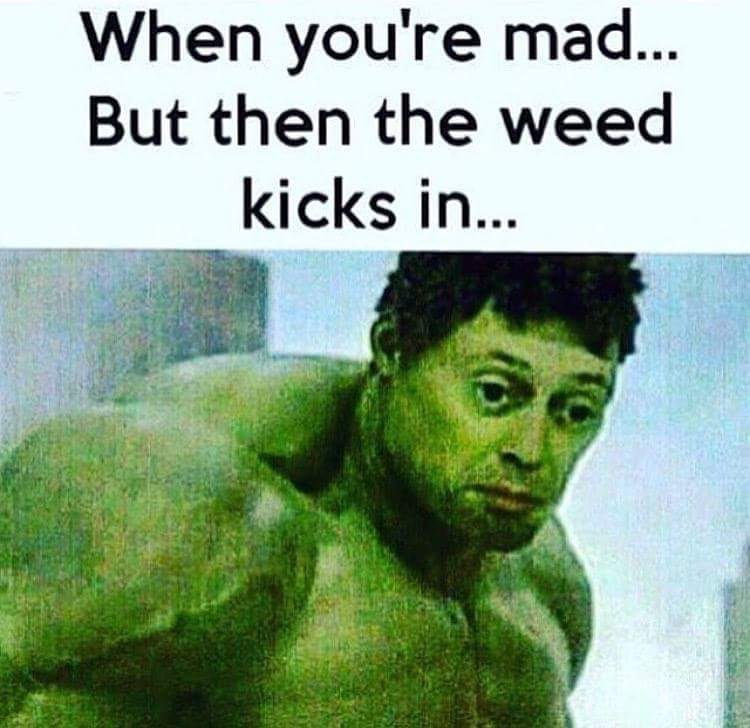 When You're Mad But Hulk Meme
