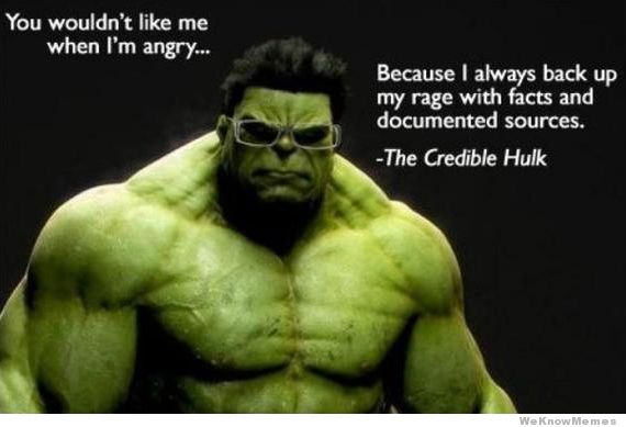 You Wouldn't Like Me Hulk Meme