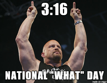 316 National Wants Day Stone Cold Meme
