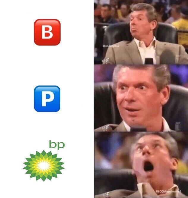 B P BP Vince McMahon Meme