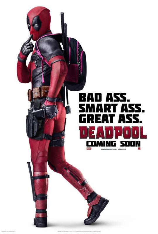 Bad Ass. Smart Ass. Deadpool Meme