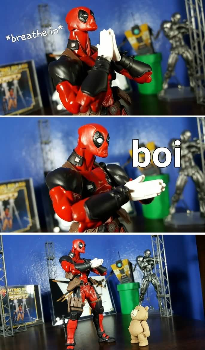 Breathe In Boi Deadpool Meme