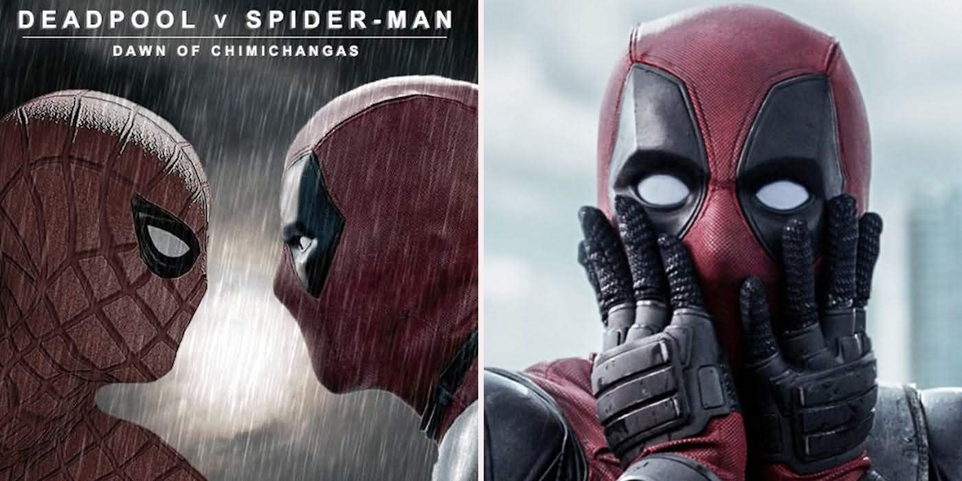 Deadpool V Spider Man Dawn Deadpool Meme