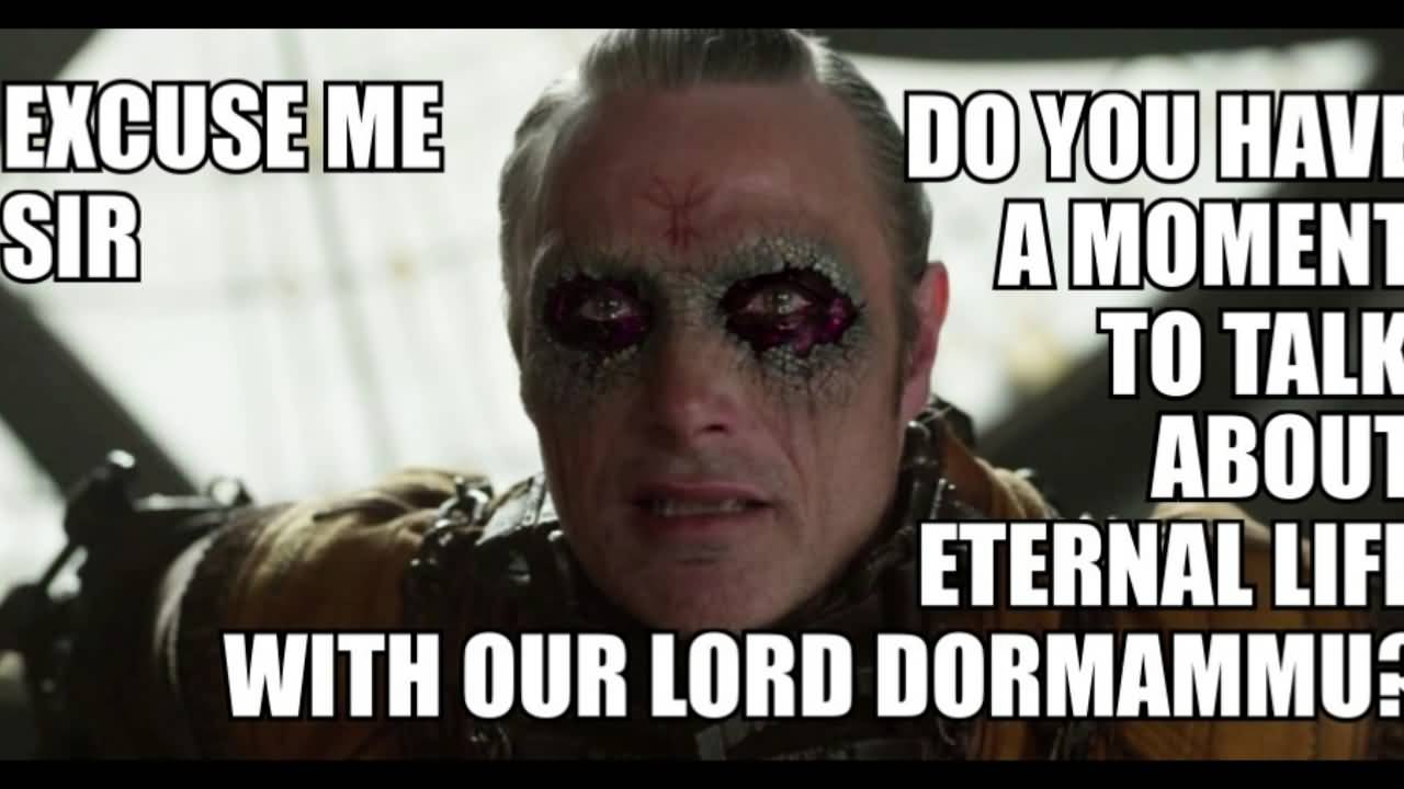 Excuse Me Sir Do Doctor Strange Meme