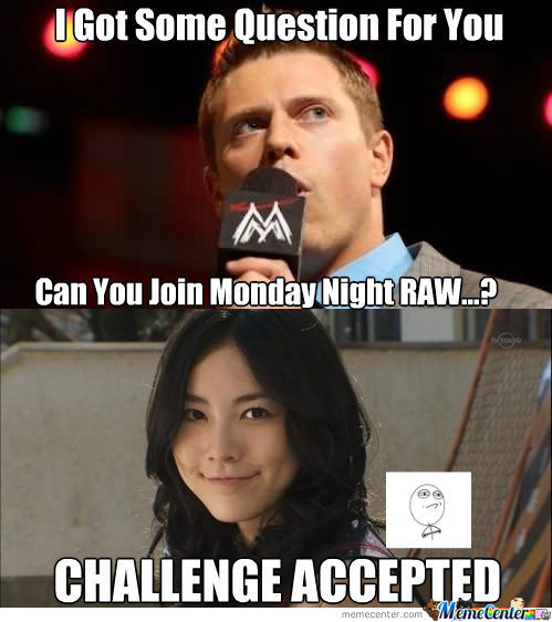I Got Some Question The Miz Meme