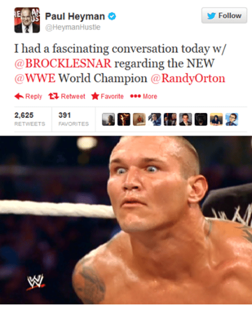 I Had A Fascinating Conversation Randy Orton Meme