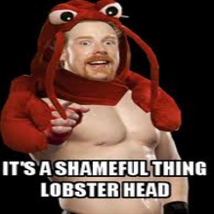 It's A Shameful Thing Sheamus Meme