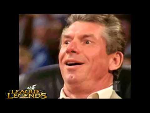 League Legends Vince McMahon Meme