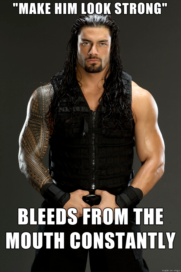 Make Him Look Strong Roman Reigns Meme