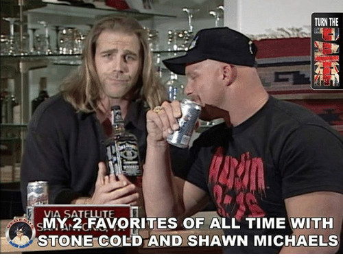 My 2 Favorites Of All Shawn Michaels Meme