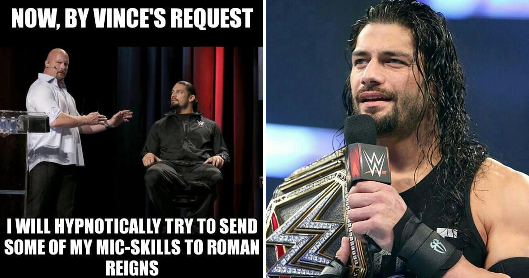 Now By Vince's Request Roman Reigns Meme