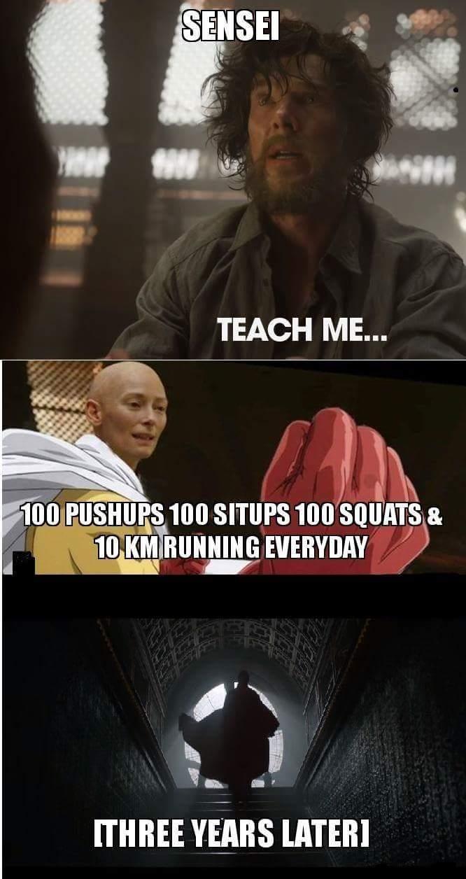 Sense! Teach Me... 100 Doctor Strange Meme