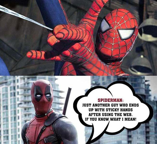 Spiderman Just Another Guy Deadpool Meme